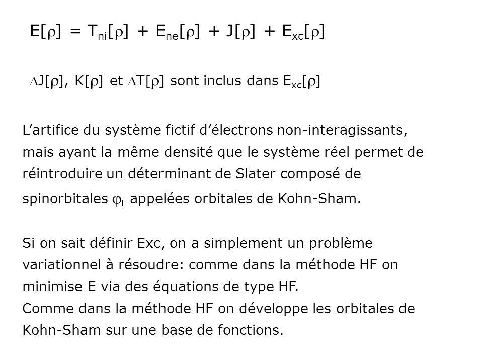 E[r] = Tni[r] + Ene[r] + J[r] + Exc[r]